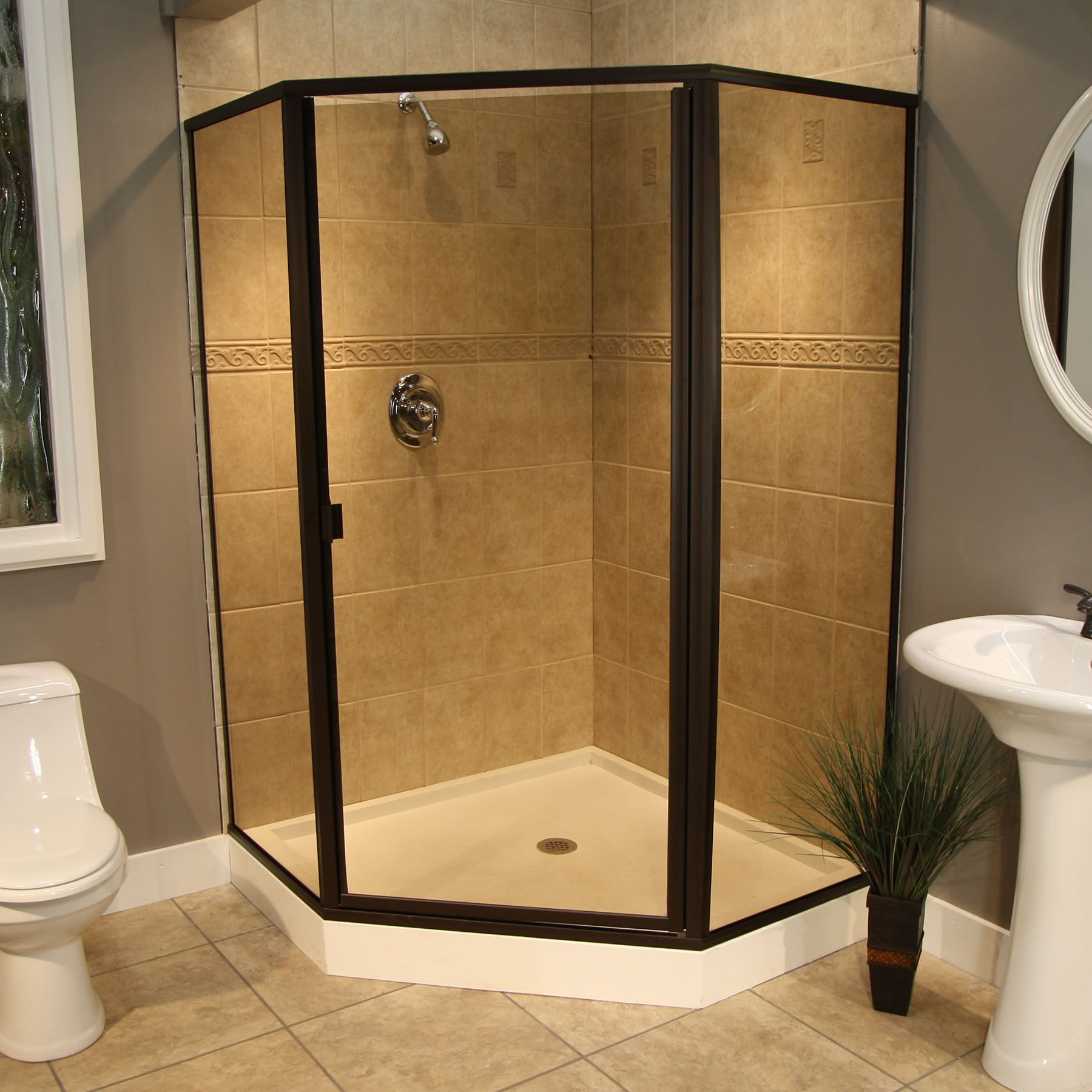 Denver Shower Glass - Save on Shower Glass Framed Shower doors ...