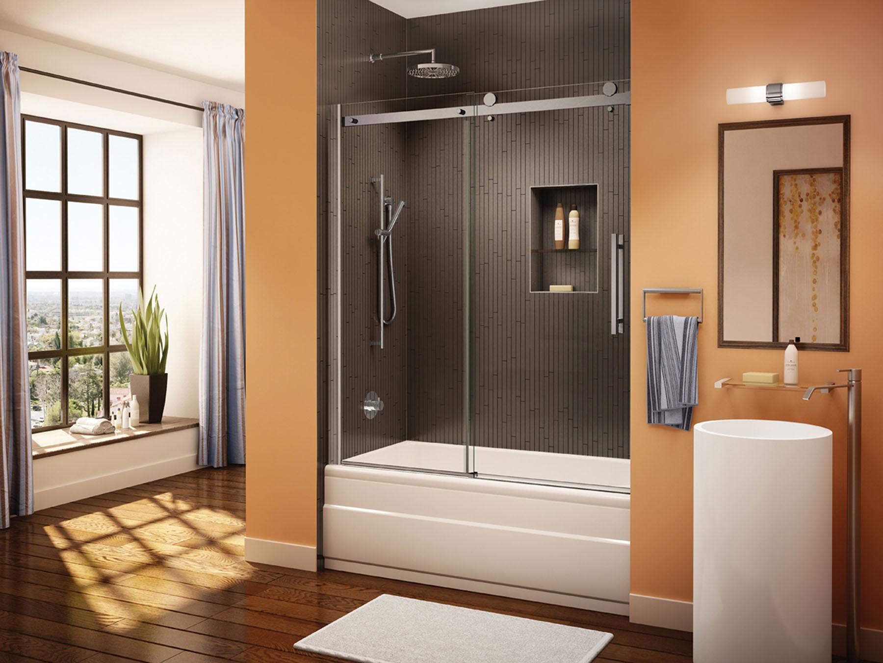 Denver Shower Glass - Save on Shower Glass Tub Enclosures | Colorado ...