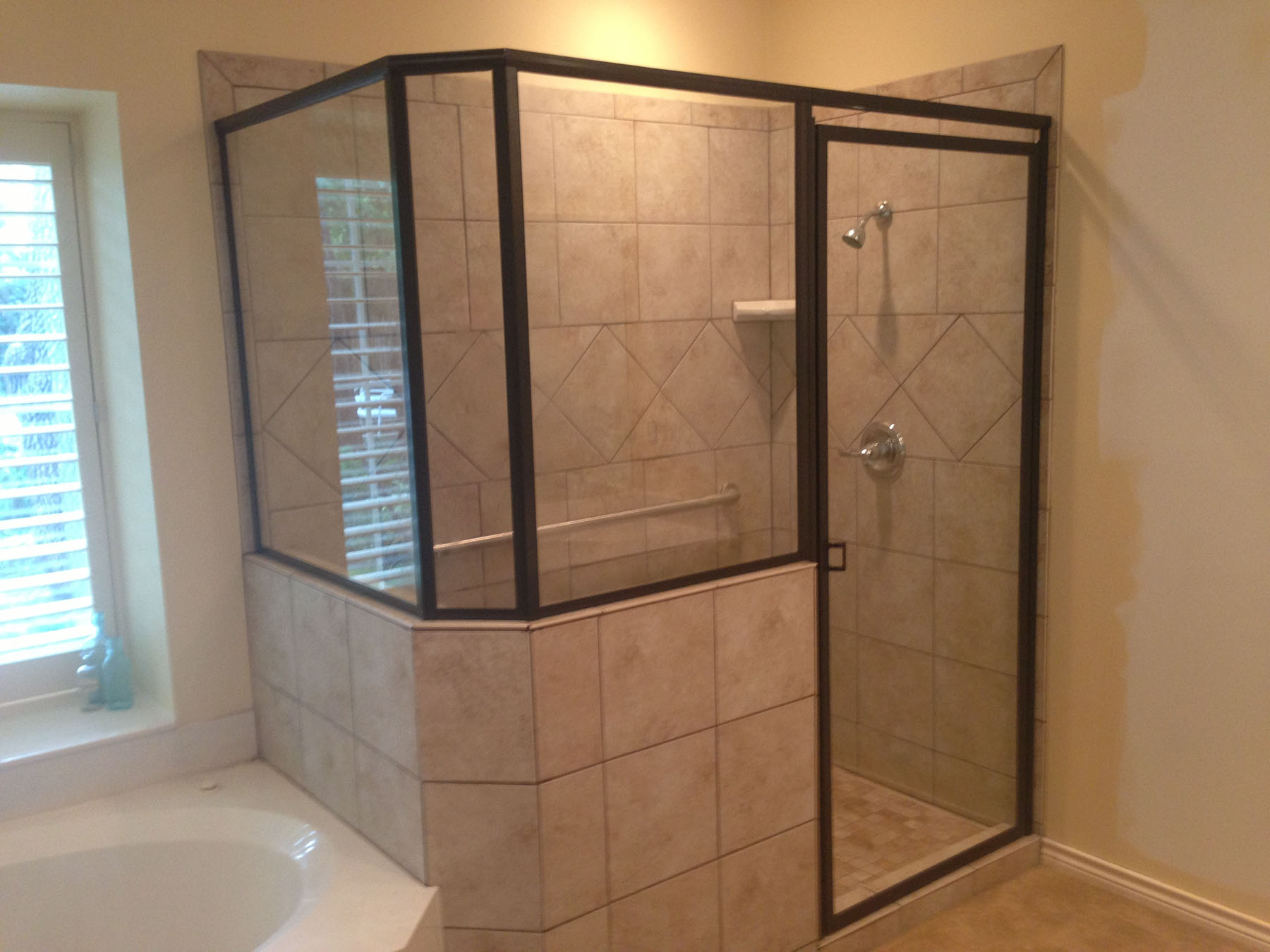 shower frameless or showers doors lg tub slider glass lemieux mirror door